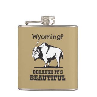 Flasques Le Wyoming ? Puisqu'il est beau