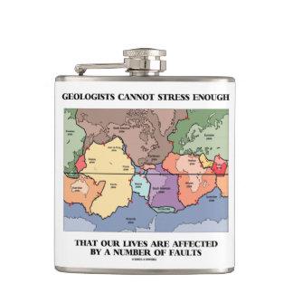 Flasques Les géologues ne peuvent pas soumettre à une