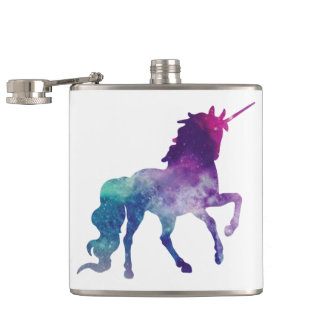 Flasques Licorne caracolante scintillante magique