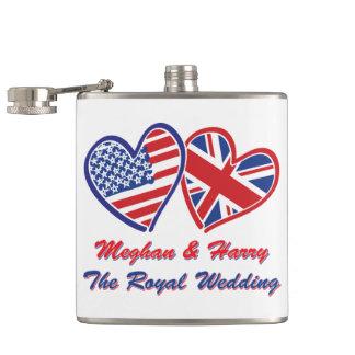 Flasques Meghan-et-Harrys mariage