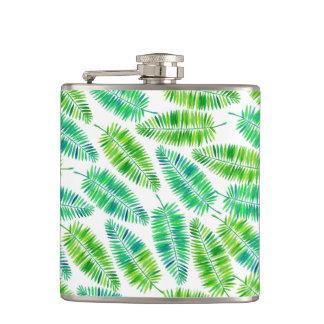 Flasques Motif de palmettes d'aquarelle