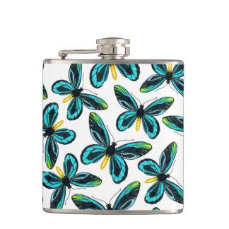 Flasques Motif de papillon birdwing de la Reine Alexandra s