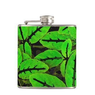 Flasques Motif d'impression de nature