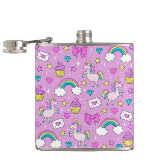 Flasques Motif mignon de licorne