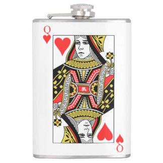 Flasques Reine des coeurs