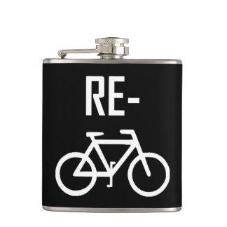 Flasques Réutilisez le vélo de bicyclette