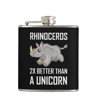 Flasques Rhinocéros meilleur que la licorne