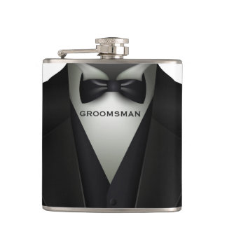 Flasques Smoking formel | Groomsman élégant de mariage