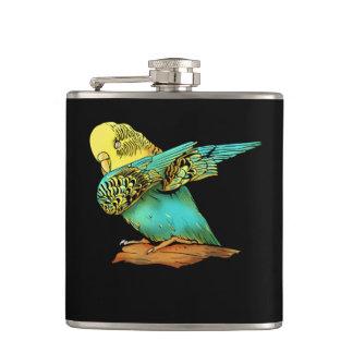 Flasques Tamponner de perruche de perruche
