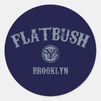 Flatbush Adhésif Rond