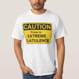 Flatulence d'extrémité de LAFS-Précaution T-shirt
