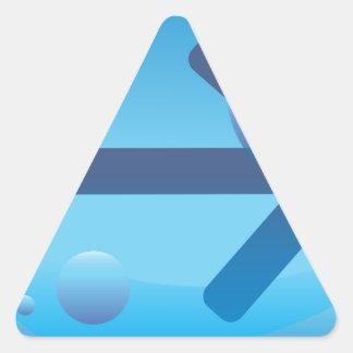Flèche Sticker Triangulaire