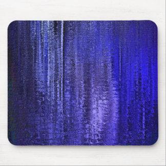 Flèches bleues de pluie tapis de souris
