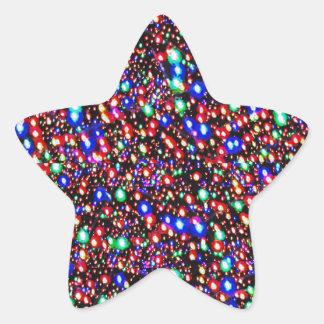 Flèches de coeur de cadeaux de heureuse sticker étoile