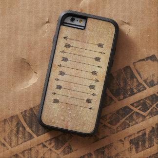 Flèches de toile rustiques de hippie coque iPhone 6 tough xtreme