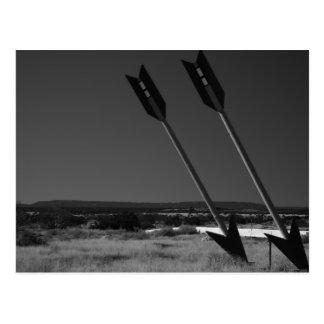 Flèches jumelles, carte postale de l'Arizona