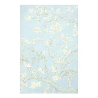 Fleur | 1890 d'amande de Van Gogh | Papiers À Lettres