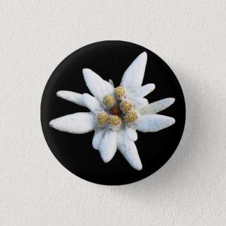 Fleur alpine d'edelweiss badge