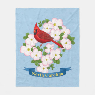 Fleur cardinale de cornouiller d'oiseau d'état de