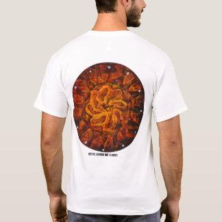 Fleur chaude celtique - T-shirt abstrait