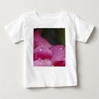 Fleur de baisse de pluie t-shirt pour bébé