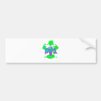Fleur de bébé de Hakuna Matata Autocollant De Voiture