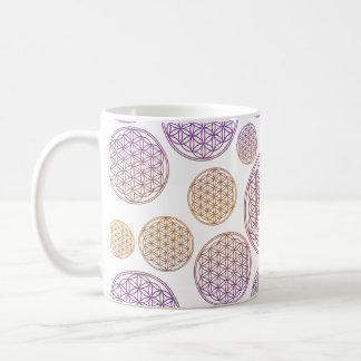 Fleur de DES Lebens de la vie/Blume - modelez la Mug