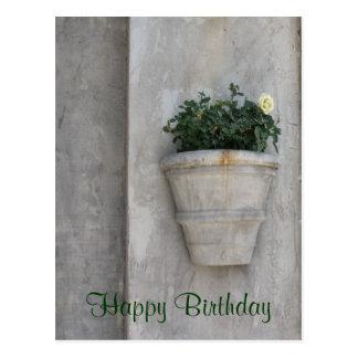 Fleur de joyeux anniversaire cartes postales