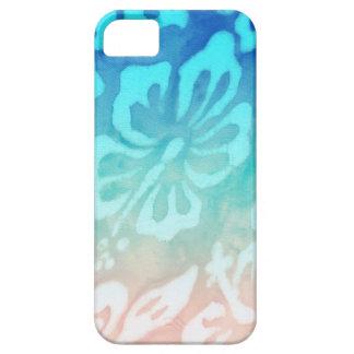 Fleur de ketmie de mariage de plage nautique coques iPhone 5