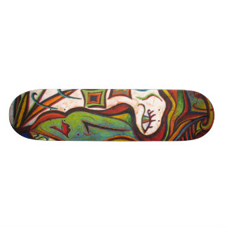 fLEUR de La de Madame Plateau De Skateboard