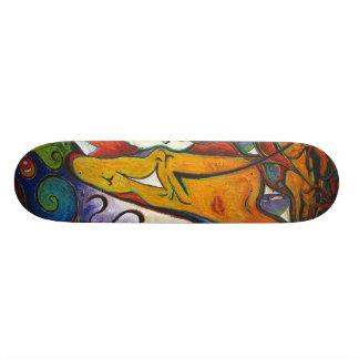 fLEUR de La de Monsieur Skateboards Personnalisés