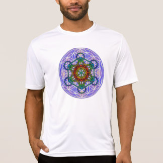 Fleur de la vie/de cube de Metatron T-shirt