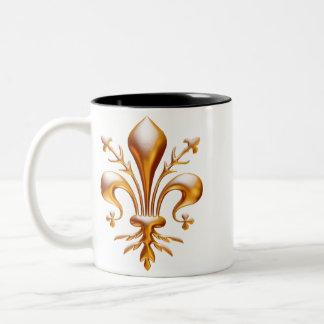 Fleur de Lis (de Lys) Mugs