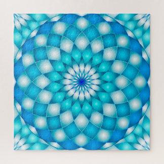 Fleur de Lotus d'abrégé sur mandala de puzzle