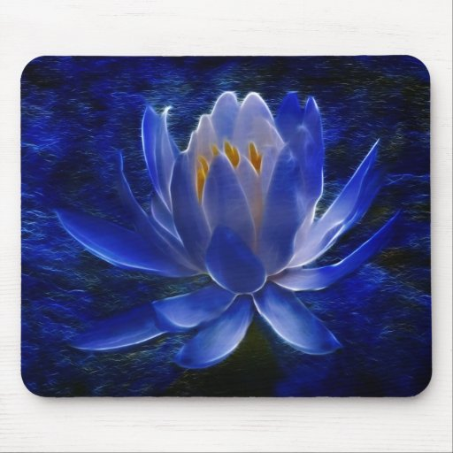 fleur de lotus et sa signification tapis de souris zazzle
