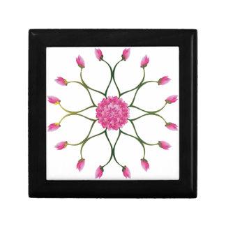 Fleur de Lotus pourpre Boîte À Souvenirs