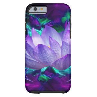 Fleur de lotus pourpre et sa signification coque iPhone 6 tough