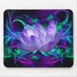 Fleur de lotus pourpre et sa signification tapis de souris