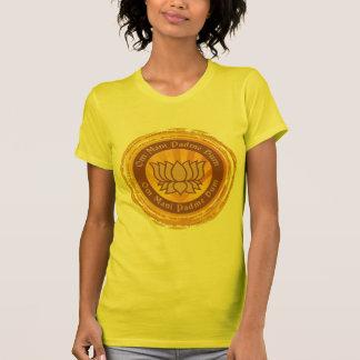 Fleur de Lotus tibétaine d incantation T-shirt