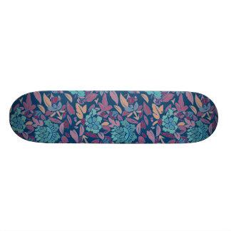 Fleur de motif de chinois traditionnel skateboards personnalisés
