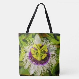 Fleur de passiflore comestible de passiflore, sac