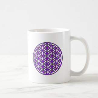 Fleur de pourpre de la vie mug