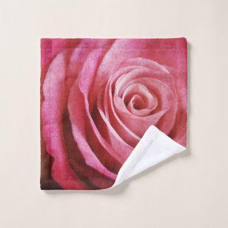 Fleur de rose de rose avec la texture grunge
