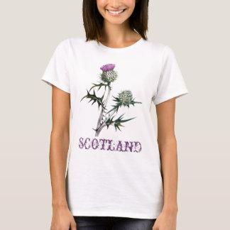 Fleur de T-shirt de chardon de l'Ecosse