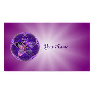 Fleur de Vénus du rose violet de fineART d'amour Carte De Visite Standard