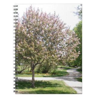 Fleur de Winnipeg Carnets À Spirale