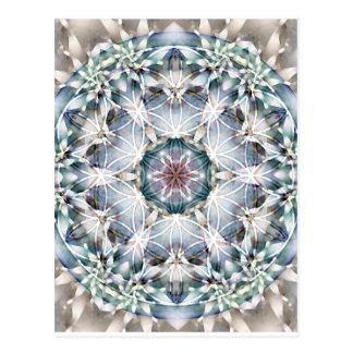Fleur des cartes du mandala 1 de la vie