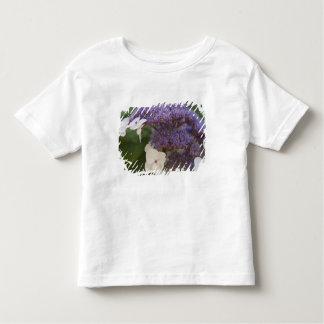 Fleur d'hortensia, jardin de Chinois de Dr. Sun T-shirt Pour Les Tous Petits