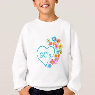 fleur du coeur 80s sweatshirt