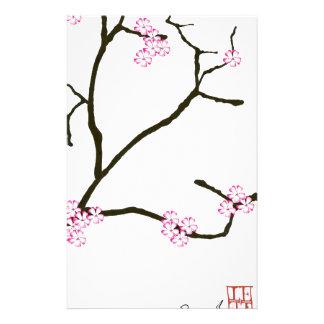 Fleur élégante 1 de Fernandes Sakura Papier À Lettre Customisé